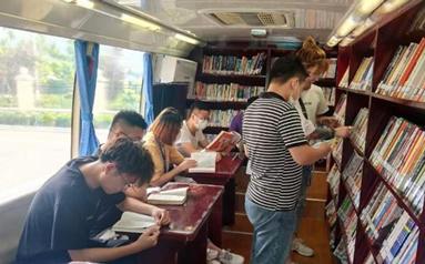 威海:流動書車進企業 豐富職工群眾精神文化生活