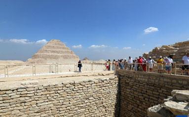 古埃及第三王朝時期一古墓向公眾開放